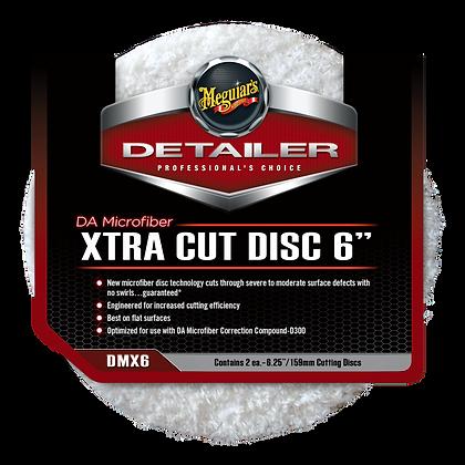 """DA Microfiber Xtra Cut Disc 6"""""""