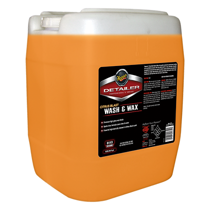 Citrus Blast Wash & Wax (5-Gallon)