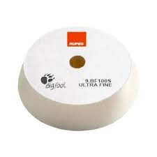 RUPES 100mm (4 inch) White Finishing Foam Pad (4 Pads)