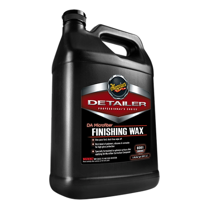 DA Microfiber Finishing Wax (1 Gallon)
