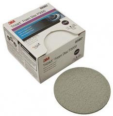 3M Trizact Hookit Foam Disc, 3 in., P3000 (box of 15)