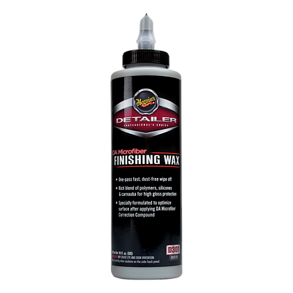 DA Microfiber Finishing Wax (16 Oz)