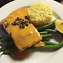 Grilled Salmon Normandy