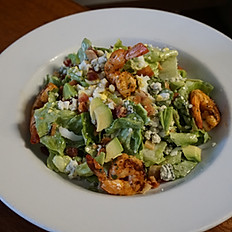 Cobb Salad With Grilled Prawns