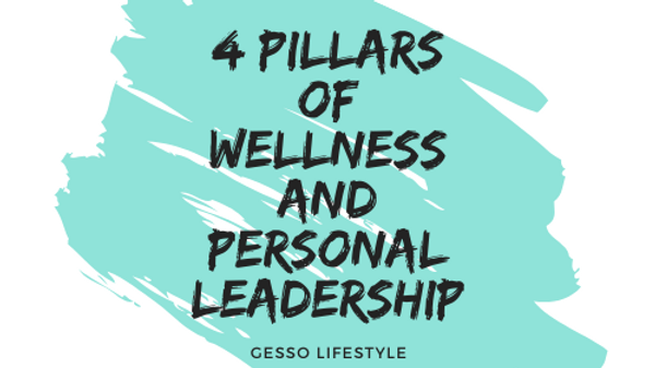 4 Pillars of Wellness and Personal Leadership