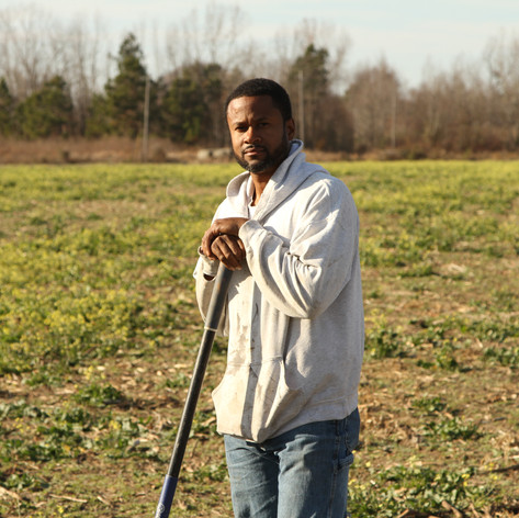 Rupert Burrows  Kingstree, South Carolina   Rupert Burrows, a native of Kingstree, South Carolina, grew up on a family farm but decided to begin farming on his own in 1998. He attended North Carolina Agricultural & Technical State University where he studied agronomy and plant science, which grew his interest in soils and soil health, changing his perspective and the way he farmed. He began to seek a better way to increase crop production without increasing inputs.  On Burrows' farm, BCR Farms, LLC, his rotation of corn, soybeans and wheat were ideal for venturing into planting cover crops. After converting his farm from conventional tillage to strip/no-till tillage, he began to experiment with rye as a cover crop. In 2014, Rupert began participating in the soil health initiative project headed by Research Associate Professor, Buz Kloot from the University of South Carolina, to study the benefits of his conservation practices, with the addition of cover crops and conservation tillage.   Burrows has worked closely with NRCS to implement conservation practices on his operation through both the Environmental Quality Incentives Program (EQIP) and the Conservation Stewardship Program (CSP). Several practices installed include: no-till on cropland, multiple species cover crops, nitrogen management and wildlife habitat enhancement.  Burrows is a great promoter of soil health and the benefits of cover crops, and he often shares his experiences with other farmers at workshops and field days. He currently serves as an associate commissioner at the Williamsburg Soil and Water Conservation District (SWCD) and was awarded the L. Claude McClary Conservation Achievement Award in 2017.  Selected by USDA Natural Resources Conservation Service – South Carolina Sabrenna Bryant