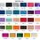 Thumbnail: pocket photo album with satin ribbon, 22x22 cm, 200 photos