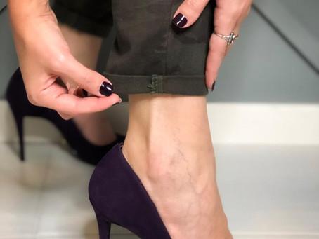 Como dobrar a barra da calça e alongar a silhueta!