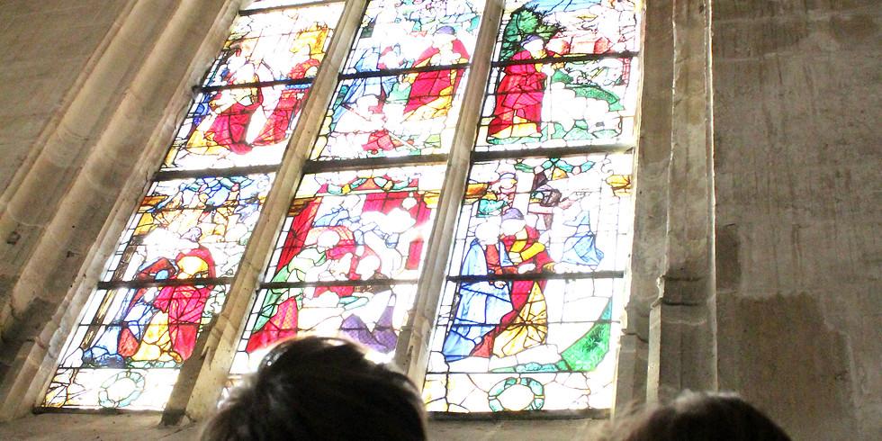 La technique du vitrail et l'église de Nogent le Roi
