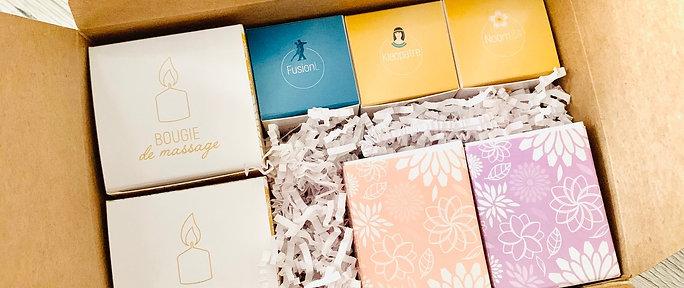 Coffret Bougies et Parfums