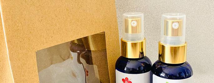 Lot 2 huiles de massage