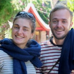Charles-Antoine et Cécile Schwerer: Une année à marcher en Asie pour comprendre la marche du monde