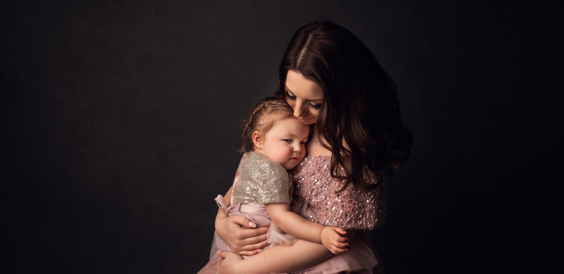 mummy and baby girl