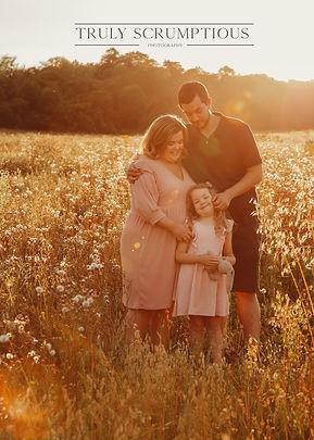 Beautiful family photoshoot.