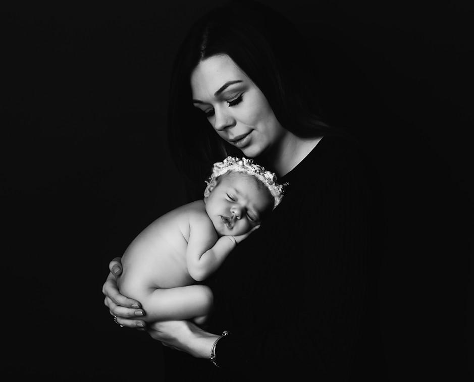 newborn parent