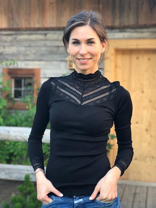 Silk Shirt 5023 black