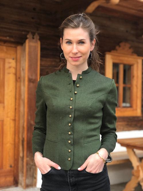 Jacke Barbara Gottseidank Grün