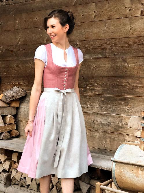 Dirndl Sofia rosé