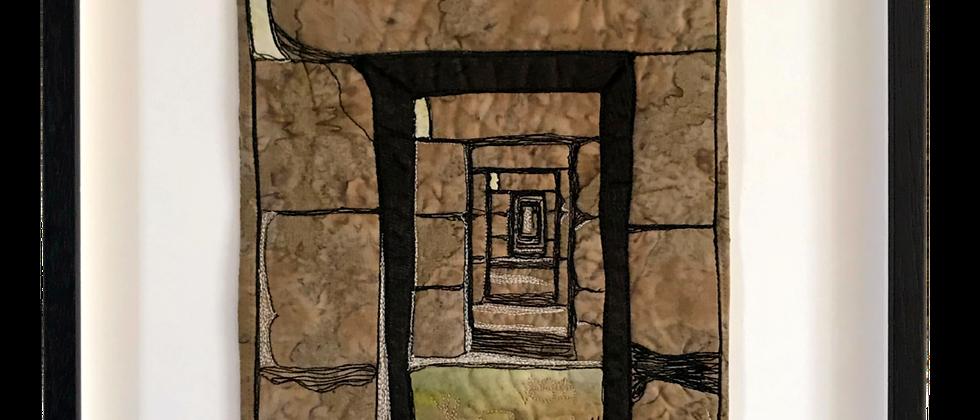 Fenicische ruïnes - 34 x 40 cm