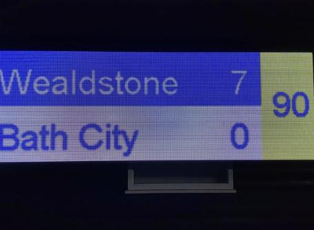 Wealdstone 7 - 0 Bath City