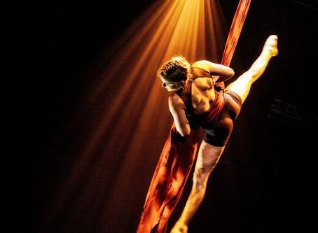 Dynamic silks with Hanne Coeckelberghs