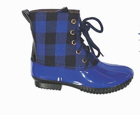 Go Big Blue Duck Boots