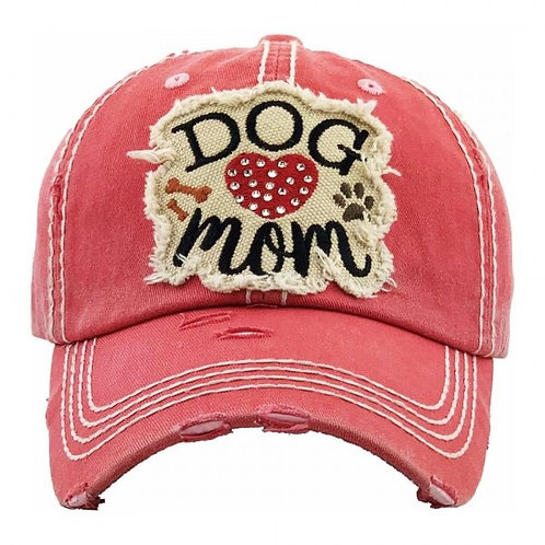 Dog Mom in six colors