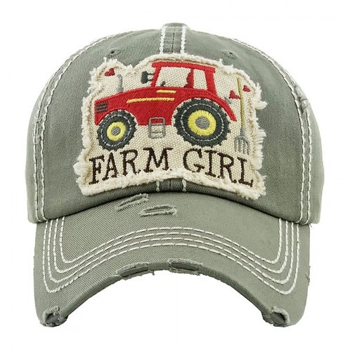 Farm girl in 3 different colors