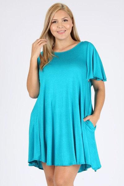 Plus size dress - 2 colors