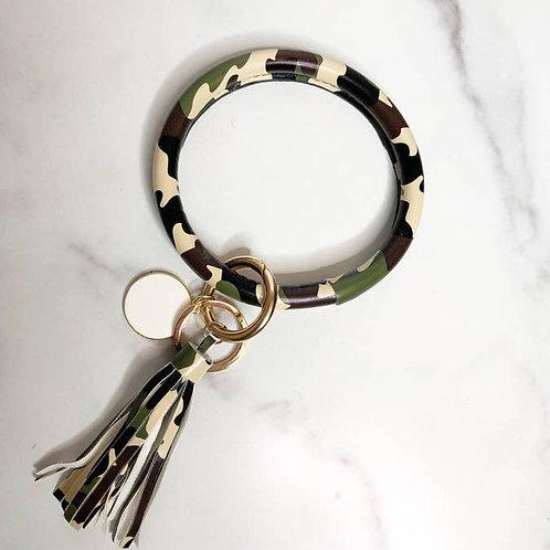 Halo Bracelet Keychain