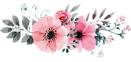 MM Business Card Logo - watercolor flora