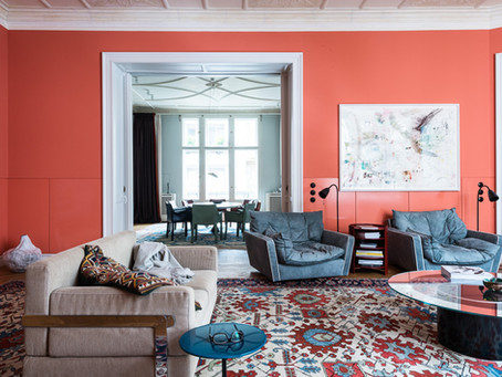 INTRODUCING LIVING CORAL: Pantone's Color of 2019