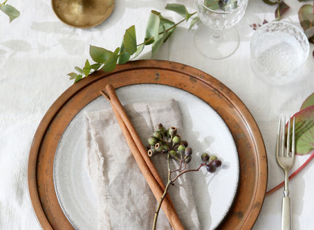READY FOR FALL: Get your table ready
