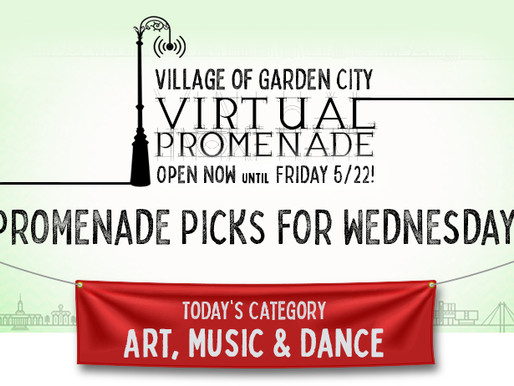 Promenade Picks For Wednesday: Art, Music & Dance