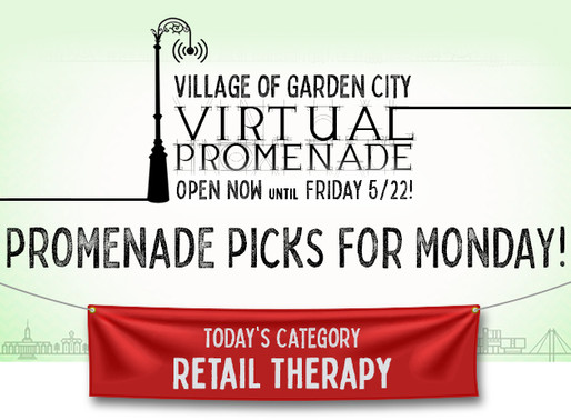 Promenade Picks For Monday: Retail Therapy