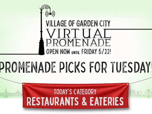 Promenade Picks For Tuesday: Restaurants