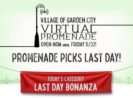 Last Day Promenade Picks