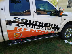 Southern Equip wrap