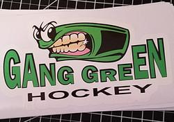 Gang Green Hocket Decal