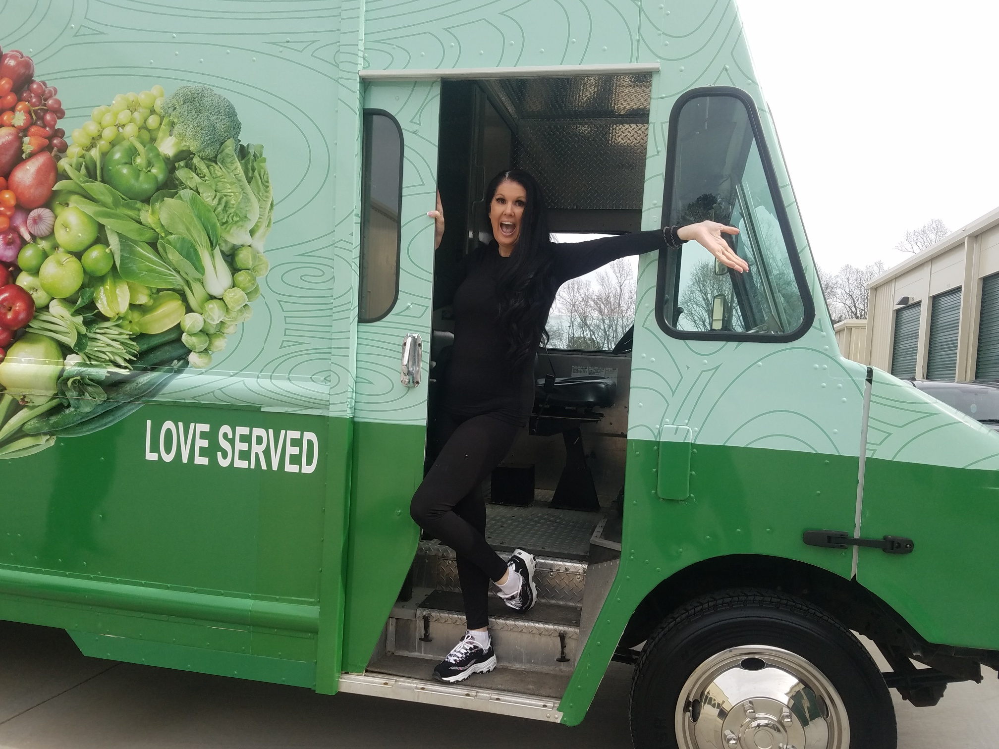 EJ in the Food Truck