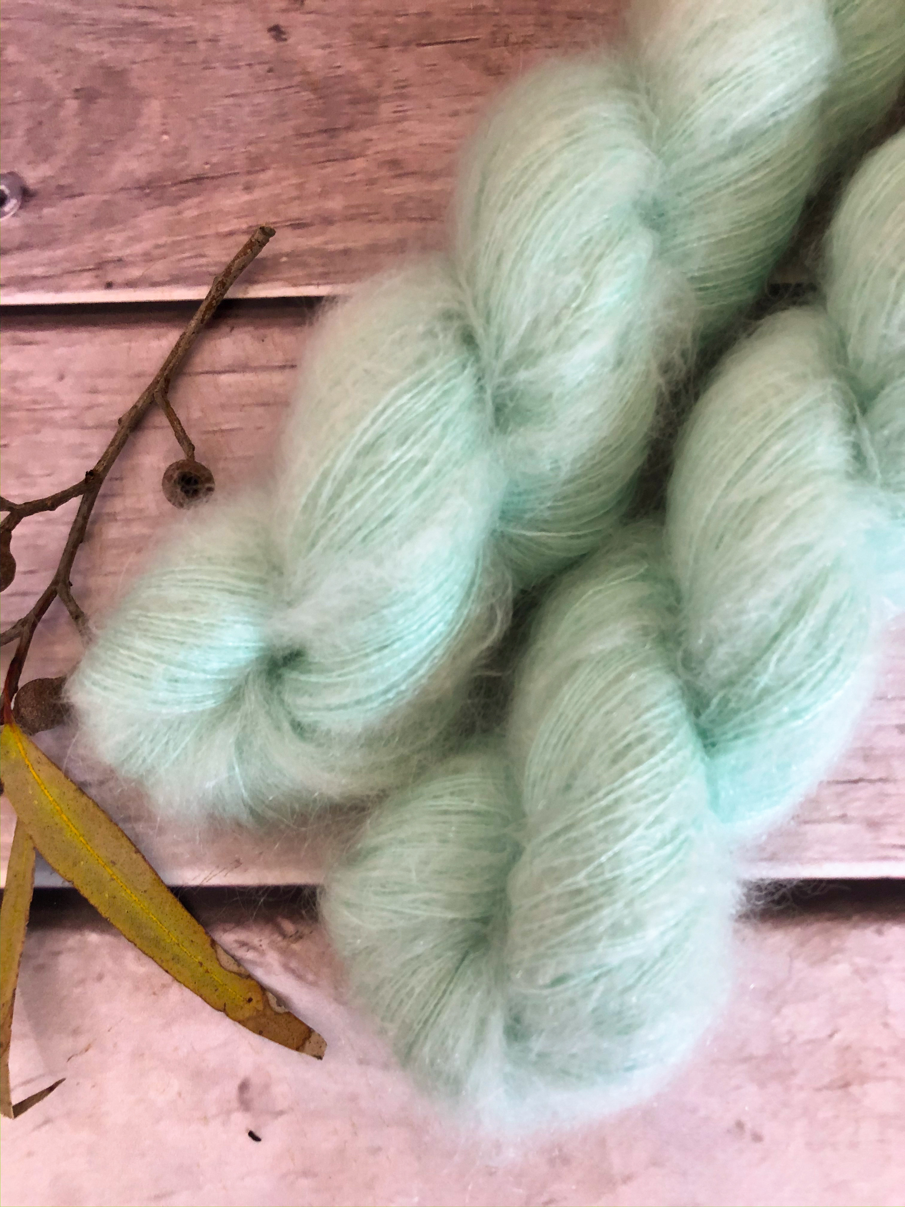 Shui Yun in a gorgeous mint green