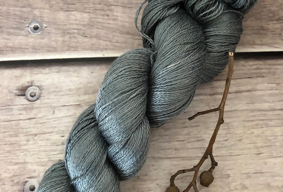 Mokume Gane- 3 ply in Mulberry silk - Pekoe (hl)