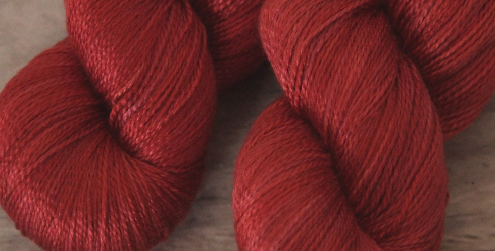 Coraline Tide - 3 ply in pure Mulberry silk - Ginseng hl