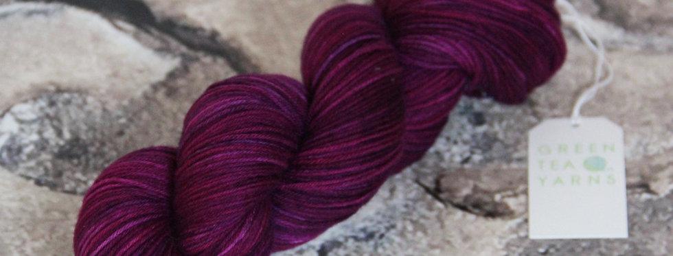 Wild Orchid - 4 ply sock yarn in merino & nylon