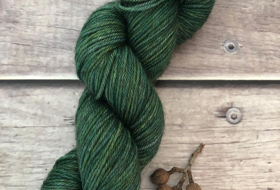 Emerald -  8 ply merino/silk/yak - Masala 8