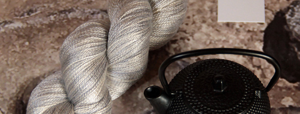 Silvercloud - 3 ply in Mulberry silk