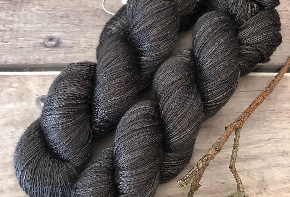 Fallen Ashes - 3 ply in Mulberry silk