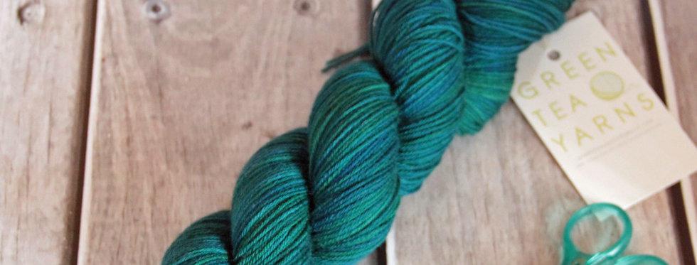 My Straw Hat - 4 ply sock yarn in merino & nylon