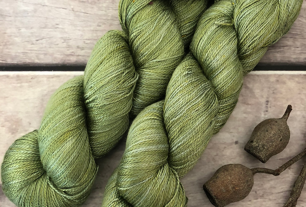 Matcha Green - 3 ply in Mulberry silk