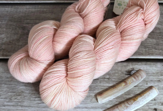 She Sells Seashells- 4 ply sock yarn in merino & nylon